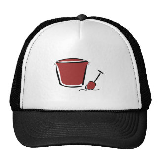 Sand Bucket and Shovel Trucker Hat