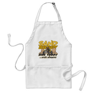 Sand Buggy Ride Today Adult Apron