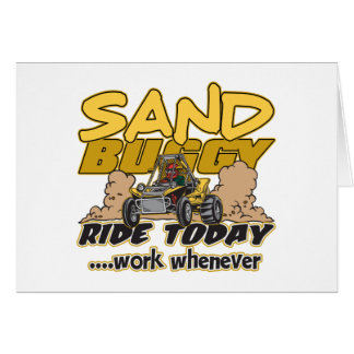 Sand Buggy Ride Today Card