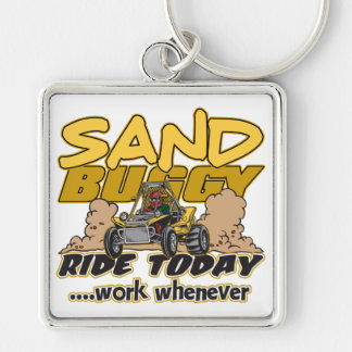 Sand Buggy Ride Today Keychain