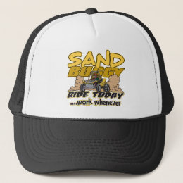 Sand Buggy Ride Today Trucker Hat