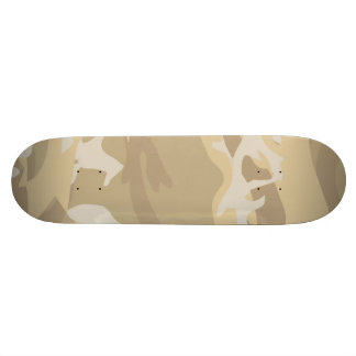 Sand Camouflage Skateboard