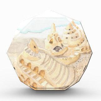 Sand Castle Acrylic Award