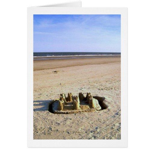 Sand Castle Card