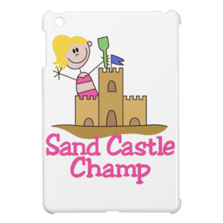 Sand Castle Champ iPad Mini Covers