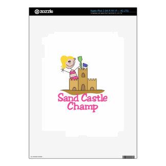 Sand Castle Champ Skin For iPad 3
