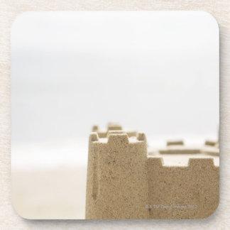 Sand castle coaster