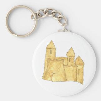 Sand Castle Keychain