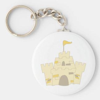 Sand Castle Key Chain