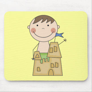 Sand Castle King Tshirts and Gifts Mouse Pad