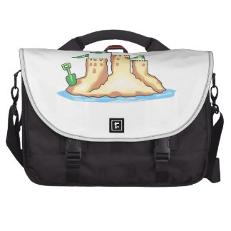 Sand Castle Laptop Bags