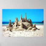 Sand Castle Poster