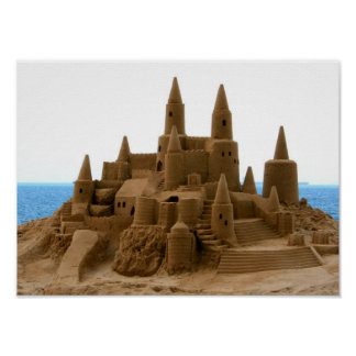Sand Castle Posters