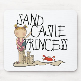 Sand Castle Princess Mouse Mat