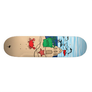 Sand Castle Skateboard Deck