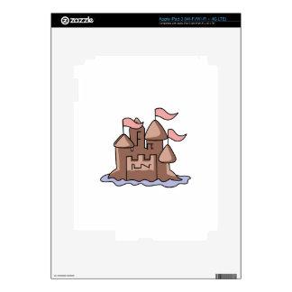 SAND CASTLE SKIN FOR iPad 3