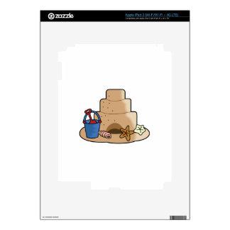 SAND CASTLE iPad 3 SKINS