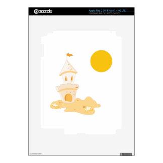 Sand Castle iPad 3 Decal
