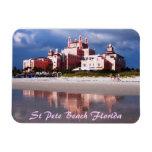 Sand Castle St Pete Bea Flexi Magnet