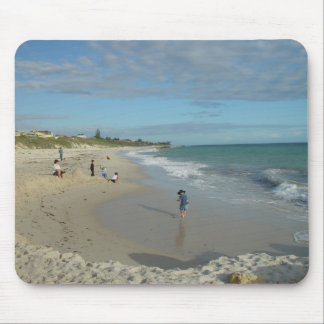 Sand Castle (Well, Heap) At Wanneroo Beach Facing Mouse Pad