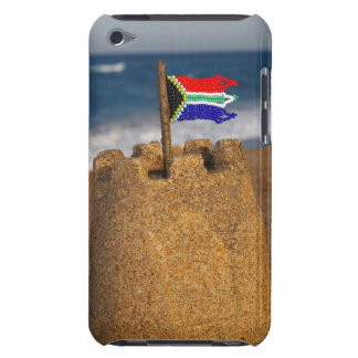 Sand Castle With South African Flag, Umhlanga Barely There iPod Covers