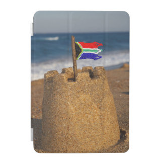 Sand Castle With South African Flag, Umhlanga iPad Mini Cover