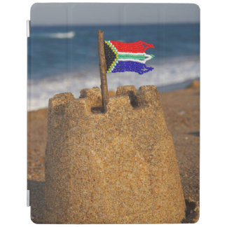 Sand Castle With South African Flag, Umhlanga iPad Smart Cover