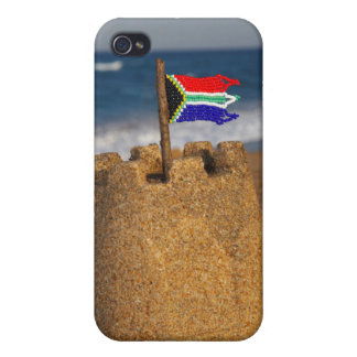 Sand Castle With South African Flag, Umhlanga iPhone 4 Case