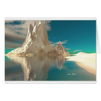SAND CASTLES BLANK CARD