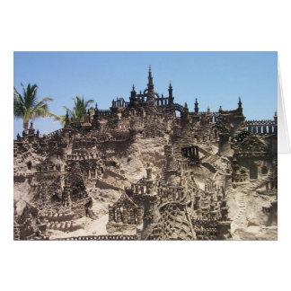 Sand Castles Greeting Card
