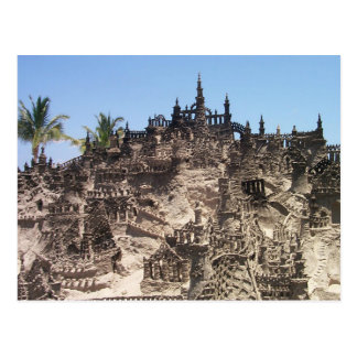 Sand Castles Postcard