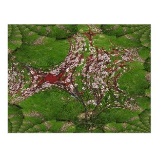 Sand Cherry Art Postcard