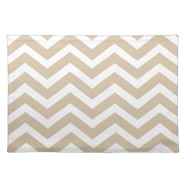 Beach Themed Sand Chevron Placemats