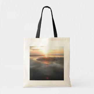 Sand Circle at Sunset Bag