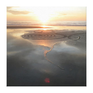 Sand Circle Canvas #1