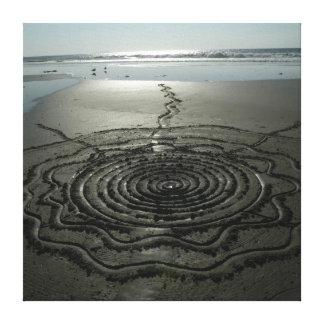 Sand Circle Canvas #2