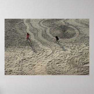 Sand Circle Poster #3