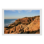 Sand Cliffs at Torrey Pines Poster