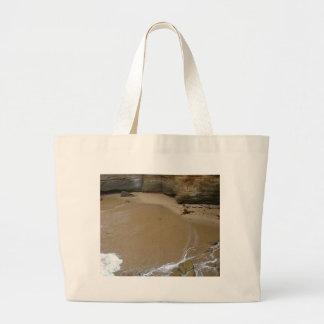 Sand Cliffs Beaches Canvas Bag