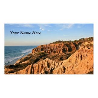 Sand Cliffs Panorama Business Card