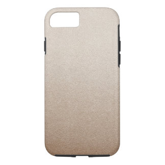 Sand Color Glitter Sand Visual Texture Ombre Light iPhone 7 Case