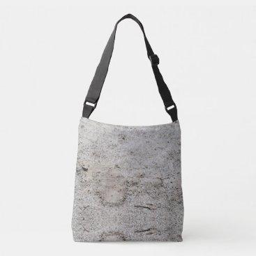 Beach Themed Sand Colored Cross Body Bag
