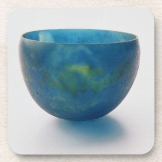 Sand-core glass bowl found in the Bernardini tomb Beverage Coasters