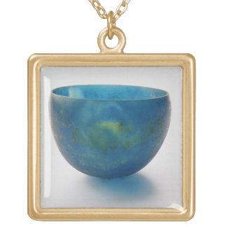 Sand-core glass bowl found in the Bernardini tomb Gold Plated Necklace