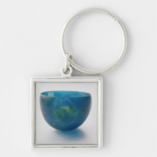 Sand-core glass bowl found in the Bernardini tomb Keychains