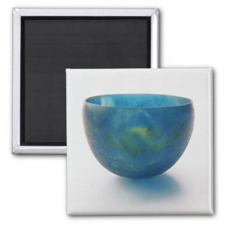 Sand-core glass bowl found in the Bernardini tomb Magnet