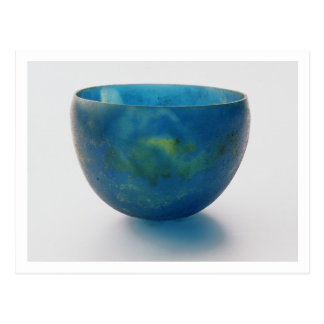 Sand-core glass bowl found in the Bernardini tomb Postcard