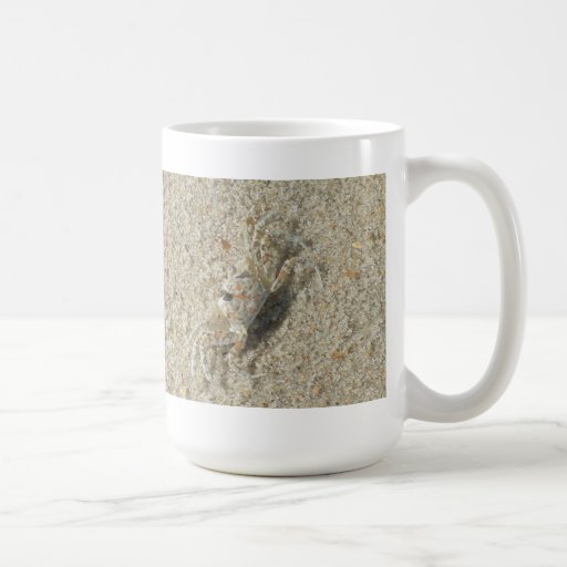 Sand Crab Coffee Mug