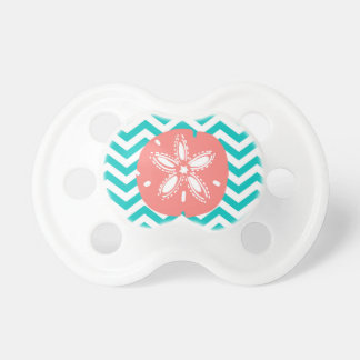 Sand Dollar and Chevron Pacifier