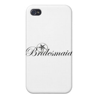 Sand Dollar Bridesmaid iPhone 4 Cases